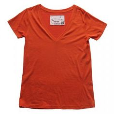 Organic cotton t-shirt featured in Martha Stewart Mag - March 2012, pg 43. One of Jill Platner's favorite things. Must buy in Bonfire Orange (shown).