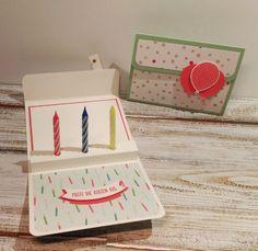 Geburtstagskerzen Karte