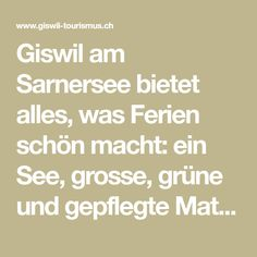 Giswil am Sarnersee Math Equations, Event Calendar, Hydroelectric Power, Tourism, Tours, Mountains, Alps, Destinations