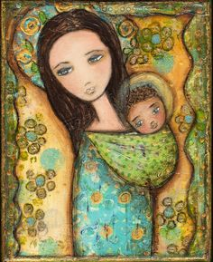 Mother by Flor Larios Art Print