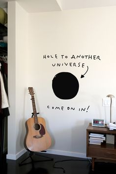 Hole to Another Universe portal (wall sticker!) My Boy will go crazy for this.