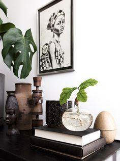 Shop the look: karakteristiek huis – Alles om van je huis je Thuis te maken Home Decor Styles, Home Decor Accessories, African Home Decor, Scandinavian Home, Elle Decor, Interior And Exterior, Modern Interior, Interior Decorating, Room Decor