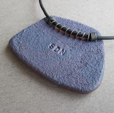 Polymer Clay Pendant Back
