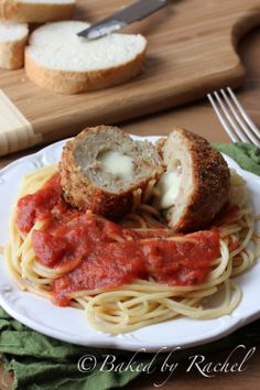 Chicken Parmesan Meatballs Recipe -- Try Underwood Meat Spreads for a variety of great flavors in each convenient package. - underwoodspreads.com #italian #meatball #recipe