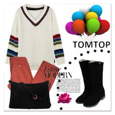 """""""TOMTOP 4."""" by selmir ❤ liked on Polyvore featuring American Vintage and tomtoppolyvore"""