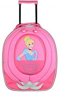 a8a92658d139 Disney By Samsonite Upright Princess Classic Wonder Childrens Luggage