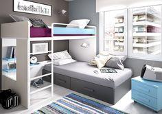 Decorar dormitorio infantil compartido  