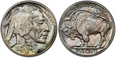 PCGS Terminology Thursday: Type Two Buffalo- An Indian Head nickel with the reverse buffalo on level ground. These were struck from until the series ended in Take a look at this 1913 Type graded PCGS Us Coins, Rare Coins, American Coins, Native American, Coin Values, To Collect, Coin Grading, Metal Detecting, Indian Head