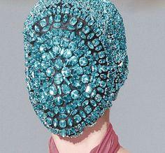 masks jewel of Maison Martin Margiela