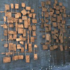 ethanallen - metal wall sculpture  Ethan Allen  furniture  interior design