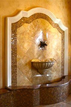 Architecture Details & Elements   Rosamaria G Frangini    Indoor fountain  #LGLimitlessDesign and #Contest