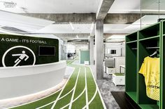 Game Changer: Onefootball's Berlin HQ by TKEZ Architecture | Companies | Interior Design