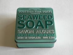 Scottish Fine Soaps Company Seaweed Triple Milled Soap in A Tin