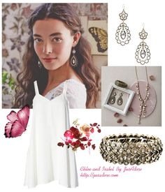 All jewelry by Chloe and Isabel http://jusadore.com