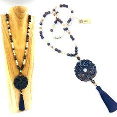 #necklace #stones #cristal #gemme #jade - La collection Jade est composée de pierres semi-précieuses