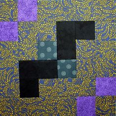 Resolution Bat Block Tutorial–52 Twisted Tradition Block Quilt Along