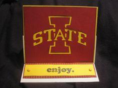Iowa State Card