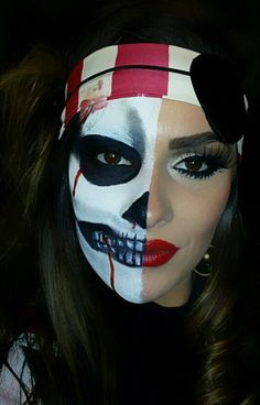 Scary Pirate Images | Upcoming Events | Magic City Face Art | Spooky Halloween MakeUp ...