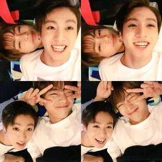 Taehyung and Jeongguuk