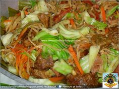 On most Filipino occasions, aside from lechon baboy, a pancit dish would always be present. Be it bihon, sotanghon, canton or combinations ...