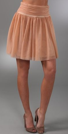 club monaco olga tulle skirt. wish I had bought this one!  anyone wanna sell theirs? :)