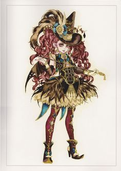 Apprentice by Sakizou <3 Fantasy Of The Dream artbook