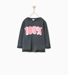 SEQUINNED T-SHIRT-Casual-T-SHIRTS-GIRL | 4-14 years-KIDS | ZARA United States