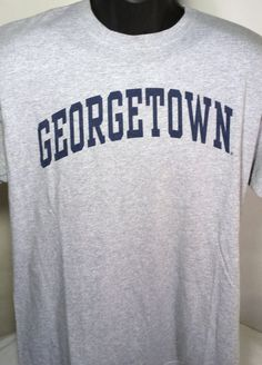 Georgetown Hoyas Mens Size Large Graphic T Shirt #Perrin #GraphicTee
