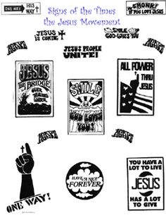 If I could go back in time for anything, it would be for the Jesus movement!!