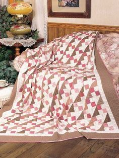 Quilting - Bed Quilt Patterns - Pieced Quilt Patterns - Chutes & Ladders