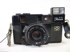 Yashica 38mm Auto Focus vintage UNTESTED #Yashica