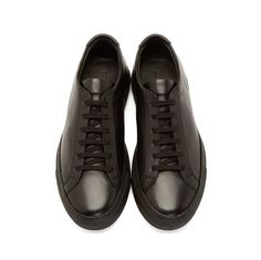 Fancy - Black Original Achilles Sneakers by Woman By Common Projects