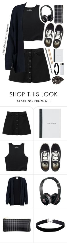 """""""Remember when they said that what we want can never be done"""" by xxkatiehemmingsxx ❤ liked on Polyvore featuring Monki, Aéropostale, Vans, Madeleine Thompson, Beats by Dr. Dre and Miss Selfridge"""