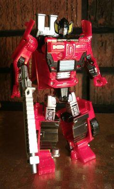 Transformers Custom Red Sunstreaker
