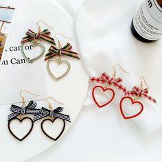 Heart Earrings, Napkin Rings, Napkins, Tableware, Home Decor, Dinnerware, Decoration Home, Room Decor, Dishes