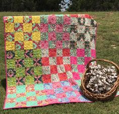 Patchwork in Tula Pink - Quilt Kit