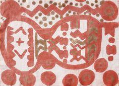 Le tissu teint de Justine Belmon (10 ans) © éjc