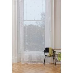Elgin White Scottish Lace Panel 445 from Net Curtains Direct