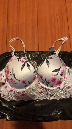 ffd0557f77a2c FRUIT OF THE LOOM- MY FABULOUS ULTIMATE PUSH-UP BRA- 34C- 2 WAYS TO ...