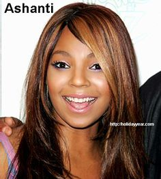 Oct 13 - Ashanti, American singer, songwriter, record producer, actress, dancer, and model was Born Today. For more famous birthdays http://holidayyear.com/birthdays/