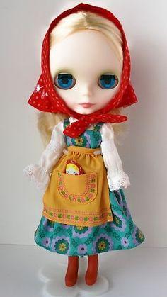 blythe nesting doll   Matryoshka Maiden Neo Blythe   Blythe   Pinterest