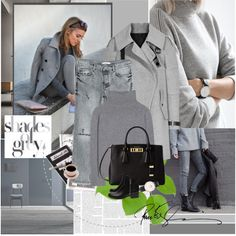 How To Wear Grey Matter Outfit Idea 2017 - Fashion Trends Ready To Wear For Plus Size, Curvy Women Over 20, 30, 40, 50