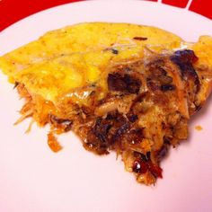 A good way to start the weekend. Bacon & crab filled omelet. #larryskitchen