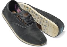 Ash Waxed Twill Men's Cordones hero - Toms - Option to go without laces. Toms Boots, Cheap Toms Shoes, Toms Shoes Wedges, Toms Shoes Outlet, Oxfords, Wedges Outfit, Groom Shoes, Kids Toms, Fashion Shoes