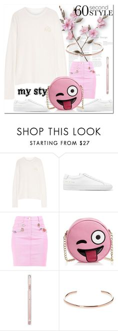 """""""Без названия #2636"""" by ilona-828 ❤ liked on Polyvore featuring The Elder Statesman, Common Projects, Moschino, Olivia Miller, A.V. Max, 60secondstyle and outdoorconcerts"""