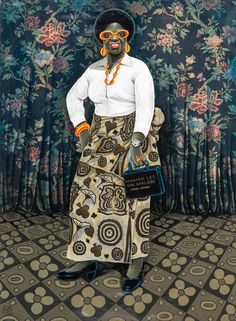 Jean-Paul Mika, 'Maman kilo ya kin malebo,' Magnin-A Art Populaire, Afro Art, Human Art, Art For Art Sake, People Of The World, Black People, African Art, Black Art, Art And Architecture