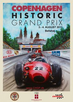 pinterest.com/fra411 #poster #car - #GP - Copenhagen Grand Prix 2013