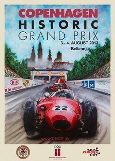 pinterest.com/fra411 #poster #car - #GP - Copenhagen Grand Prix 2013