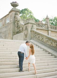 central park #engagement #photography // kt merry photography