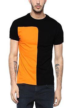 Veirdo Plain/Solid Black Half Sleeve Round Neck Men's Cotton Tshirt New T Shirt Design, Shirt Print Design, Tee Shirt Designs, Mens Polo T Shirts, Mens Tees, Casual T Shirts, Casual Outfits, Mens Designer Shirts, Dance Shirts